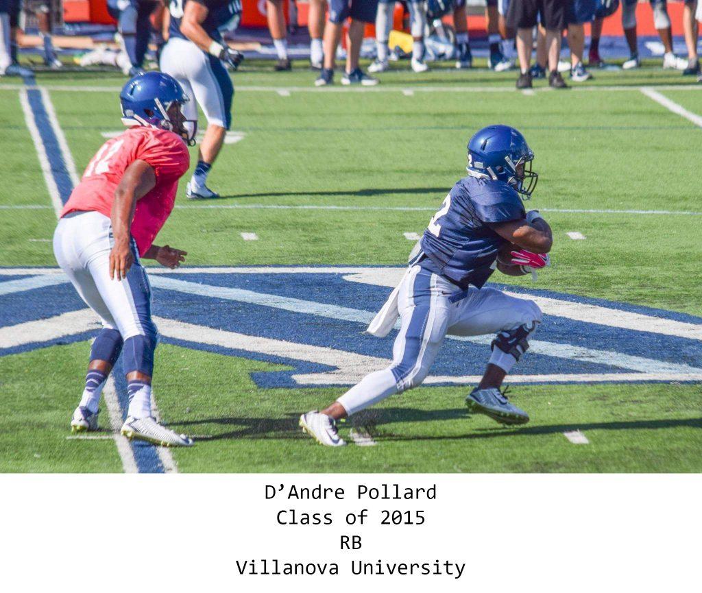 Class of 2015 Pollard_DAndre Villanova Univ