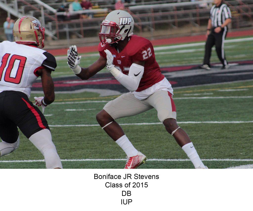 Class of 2015 Stevens_JR_Boniface IUP