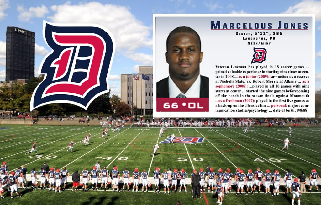 Class of 2006 Marcelous Jones Duquense University