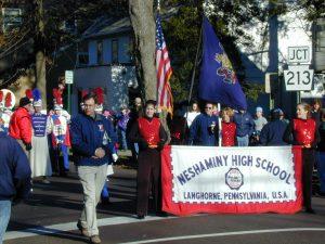 Redskins Parade 2001 - 01