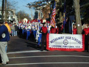 Redskins Parade 2001 - 02