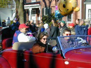 Redskins Parade 2001 - 18