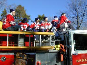 Redskins Parade 2001 - 24