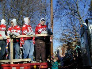 Redskins Parade 2001 - 27