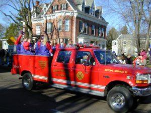 Redskins Parade 2001 - 28