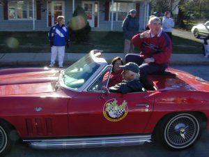 Redskins Parade 2001 - 41