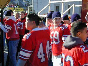 Redskins Parade 2001 - 62