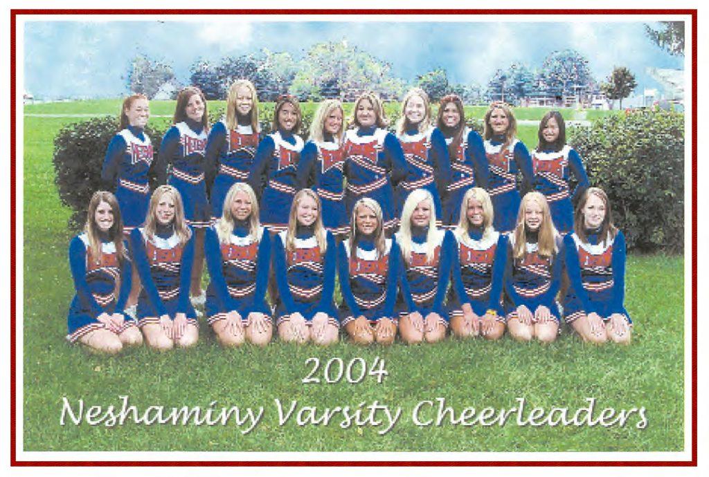 2004 Cheer Team