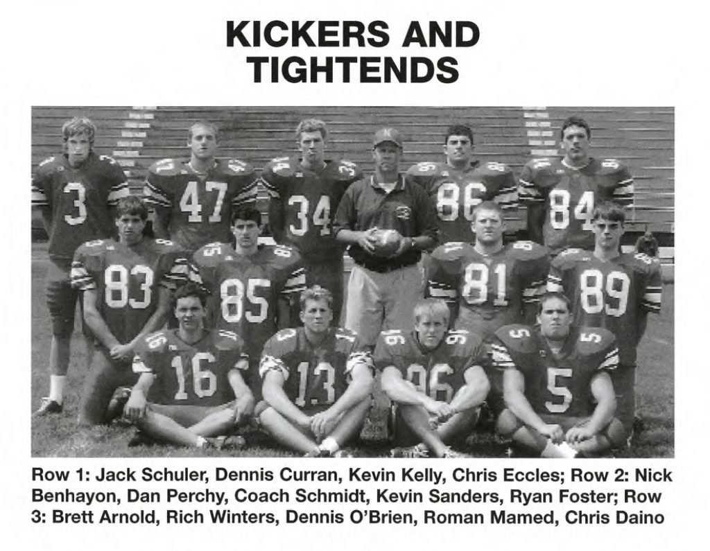 2004 Kickers and Tight Ends