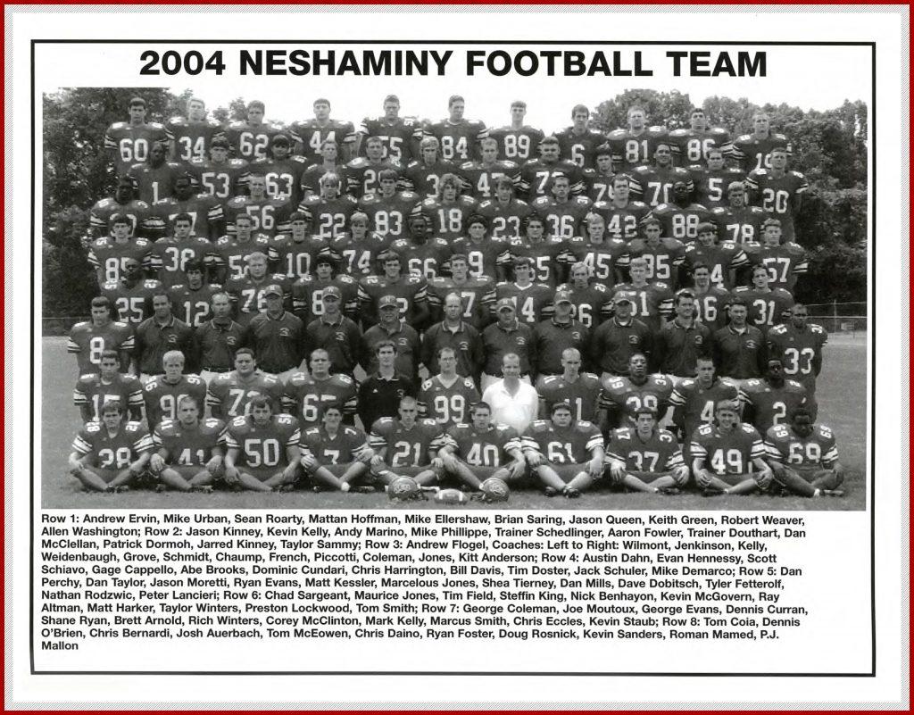 2004 Neshaminy Redskins