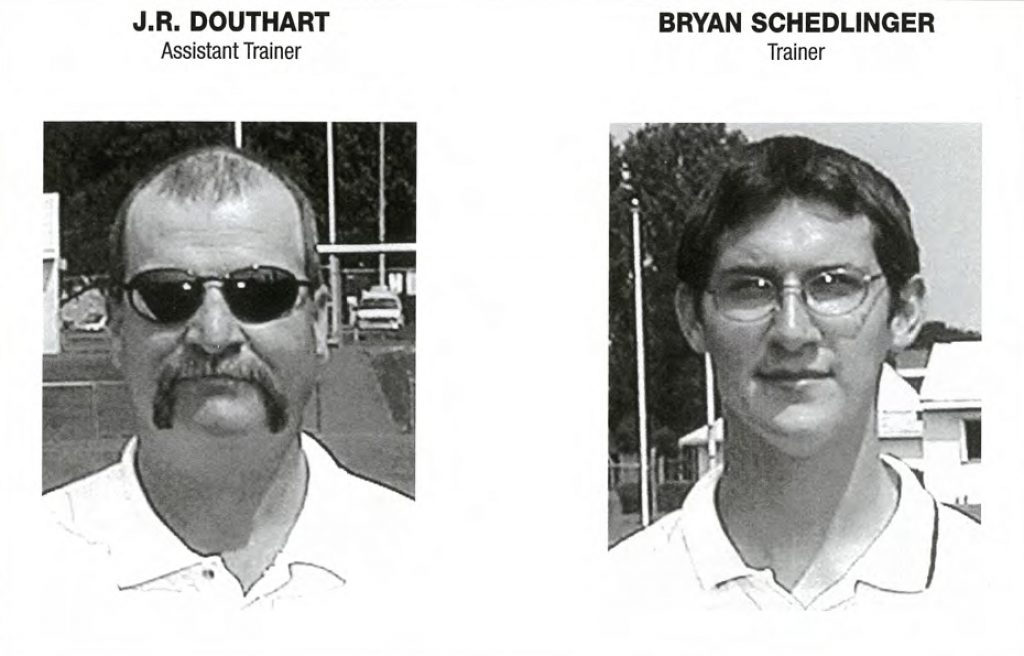 2004 Trainers JR Douthart and Bryan Schledinger