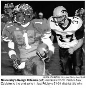 2004_12_03 Gerog Coleman North Penn Game