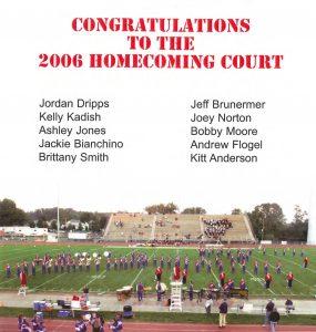 2006 Homecoming Court