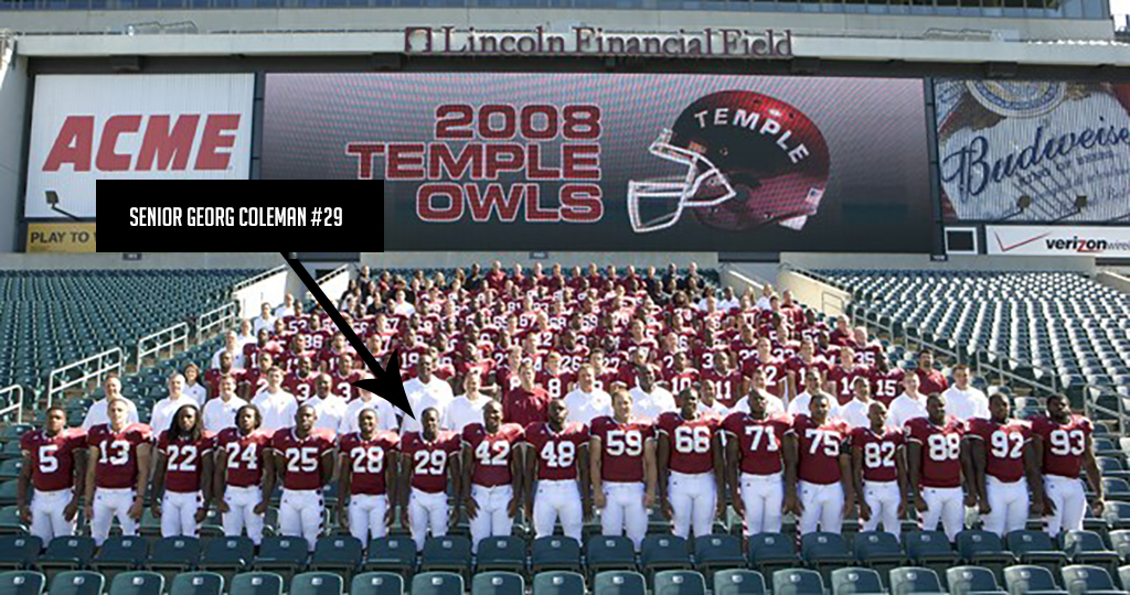 Class of 2005 Georg Coleman Temple University