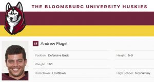 Class of 2007 Andrew Flogel Bloomsburg University