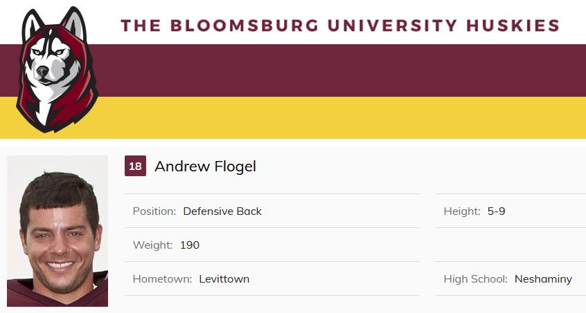 Class of 2007 Andrew Flogel Bloomsburg University