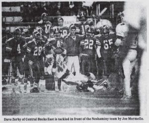 The_Philadelphia_Inquirer_Mon__Nov_11__1991_CBE game Joe Mormello