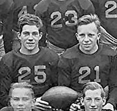 1933 Ed Bud Black and Chet Castor