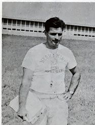 1954 Head Coach Harry Franks
