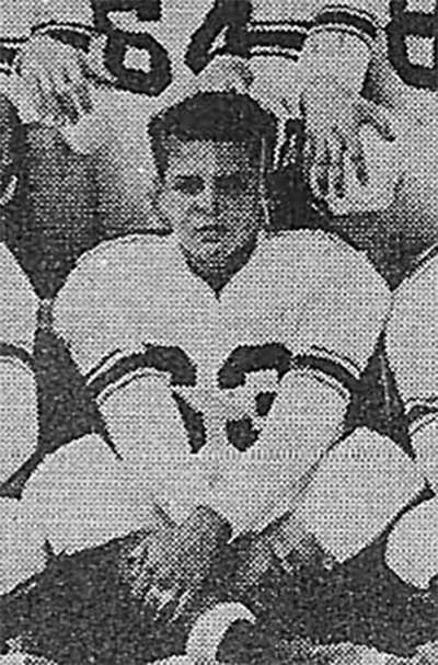 1954 Sophomore Dale Puff