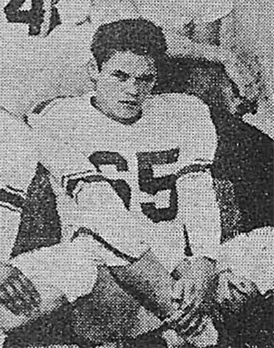 1954 Sophomore Hank Adams