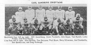 1963 Carl Sandberg Football Team