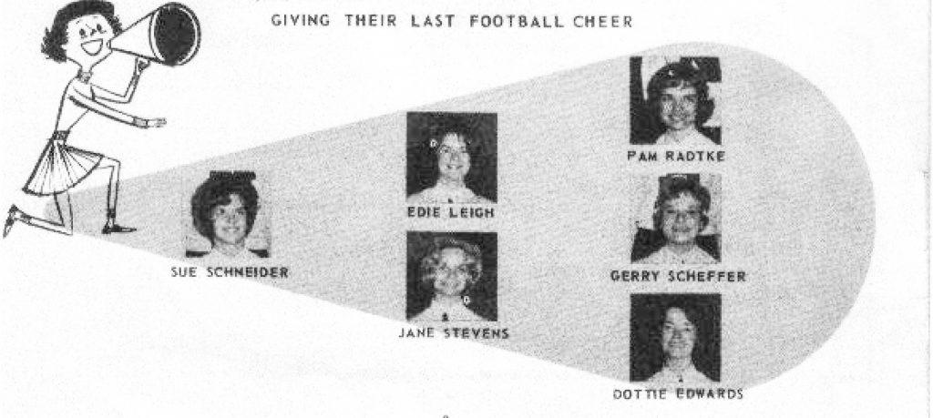 1963 Cheer Seniors