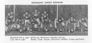 1963 Neshaminy Redskins JV Team