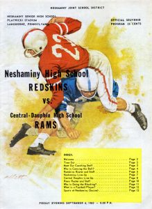 1963_09_06_Central-Dauphin Game Program