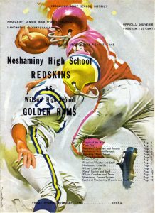 1963_11_01_Wilson Game Program