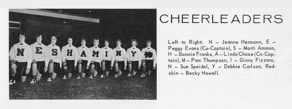 1964 Cheer Team
