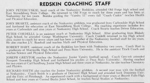 1964 Coaching Staff 2