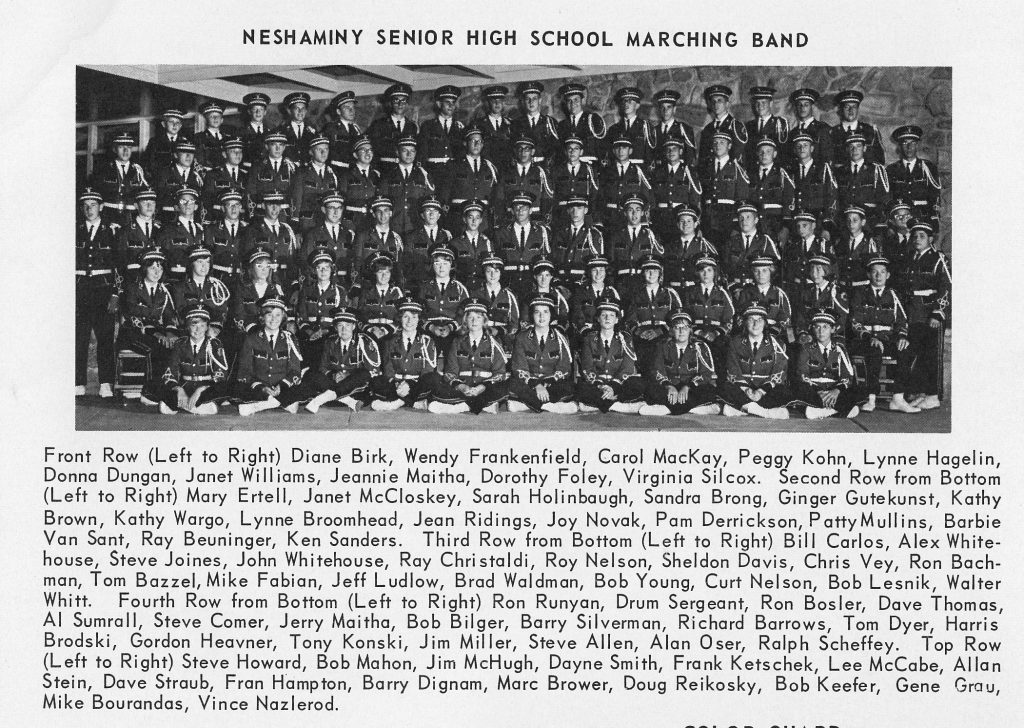 1964 Marching Band