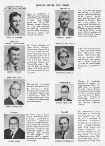 1964 Staff