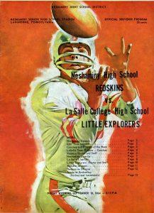1964_09_18_La Salle College Game Program