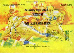 1964_10_02_Wm Allen Game Program