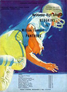 1964_11_06_Wm Tennent Game Program