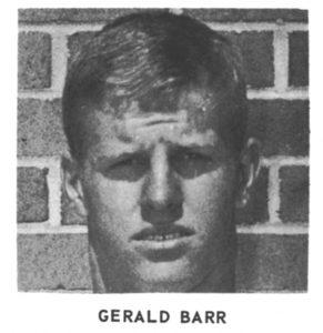 1965 Senior Gerald Barr