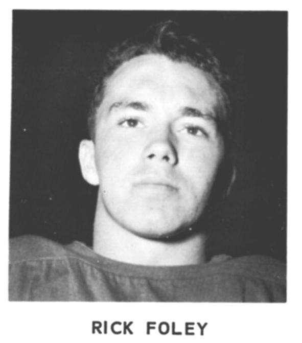 1965 Senior Richard Foley