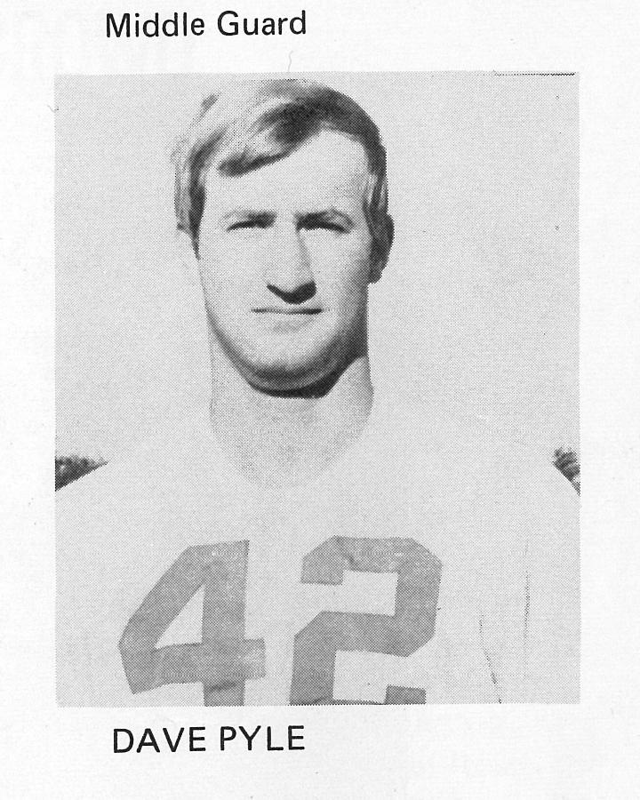 1971 Senior 42 Dave Pyle