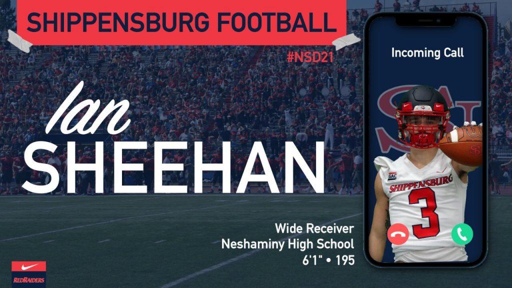 Class of 2020 Ian Sheehan Shippensburg