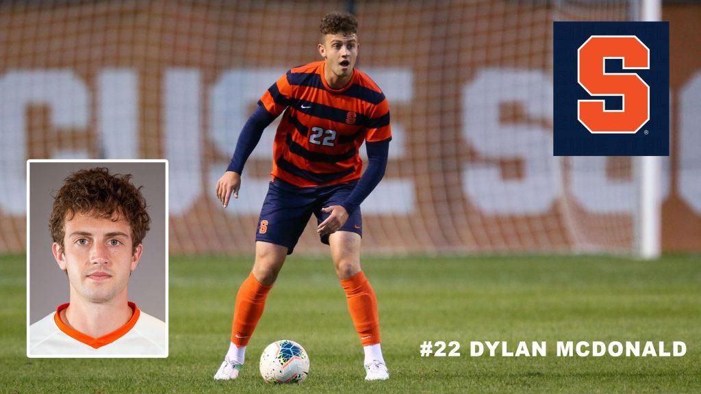 Class of 2017 Dylan McDonald Syracuse University