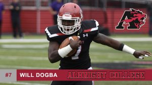 Class of 2017 Will Dogba Albright College