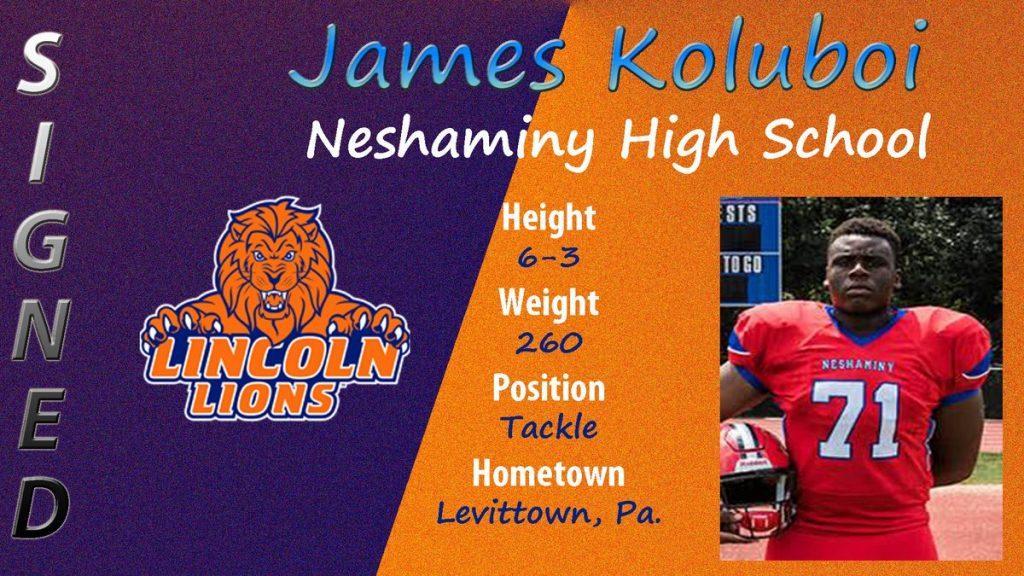 Class of 2019 James Koluboi Lincoln Univ