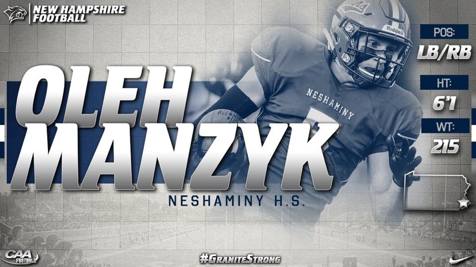 Class of 2019 Oleh Manzyk UNH