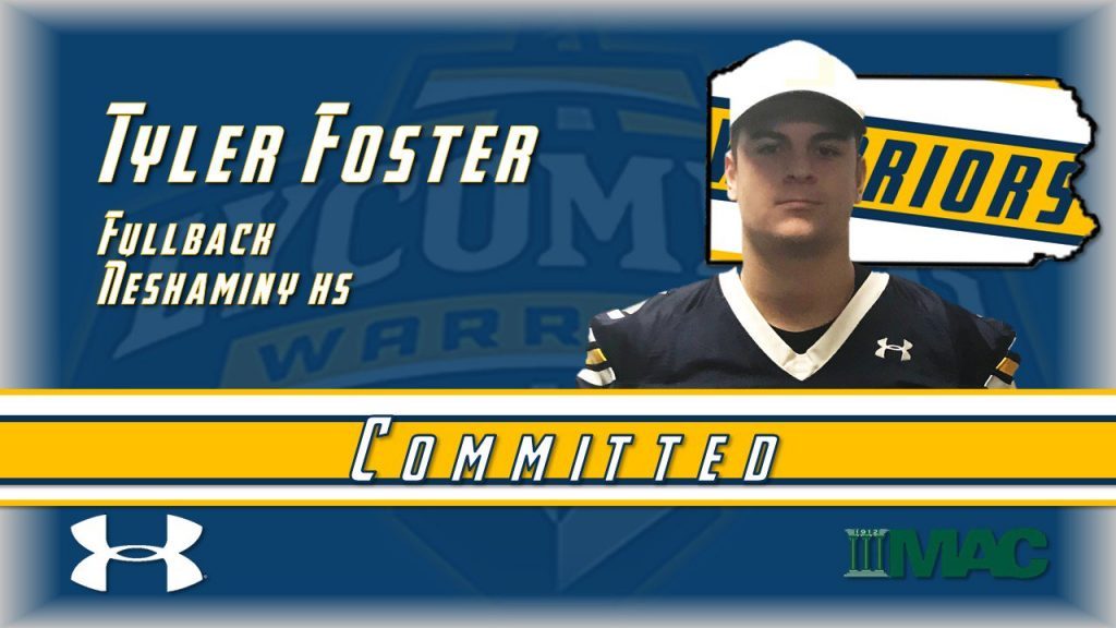Class of 2019 Tyler Foster Lycoming