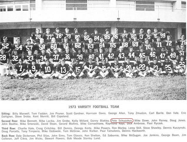 Class of 1972 Pete Schupakas University of Virginia