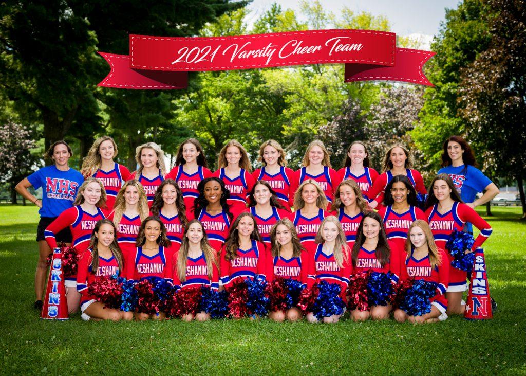 Varsity Team photo with ribbon