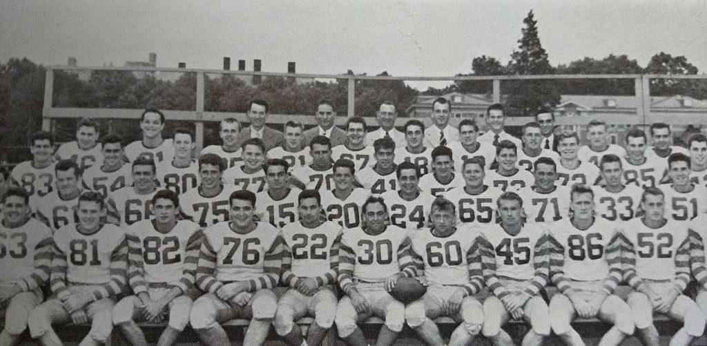 "Class of 1948 Wayne ""Inky"" Schneider #30 at WCU"