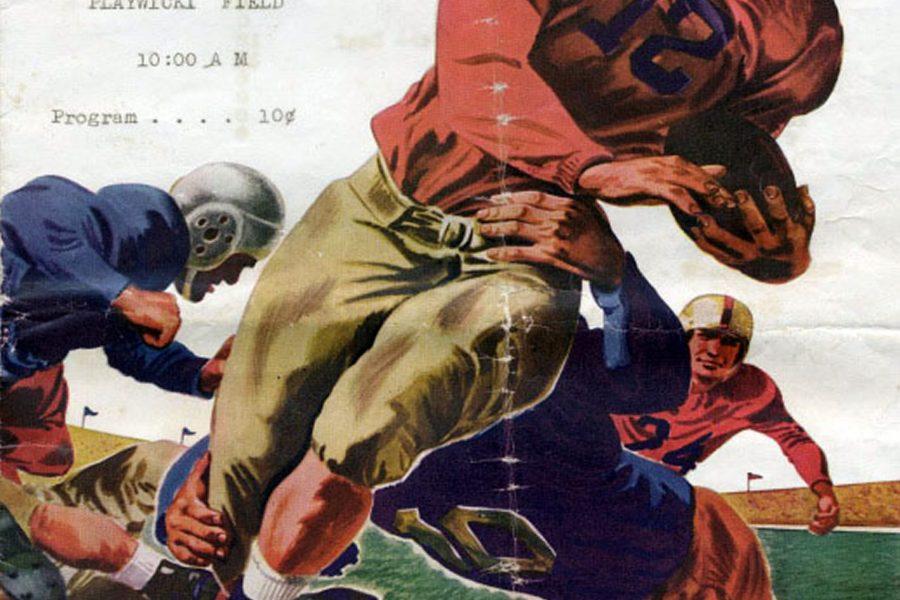 1940s Cover - Neshaminy Vs Bensalem